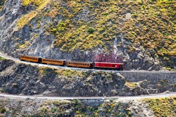 A picture of Avenue of the Volcanoes with Devil's nose train - 2 days
