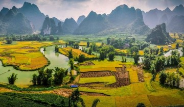 A picture of 5 Day Adventure in Ban Gioc Waterfall - Ba Be Lake - Halong Bay