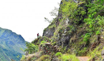 A picture of 4 Day Small Group Inca Jungle Trail to Machu Picchu