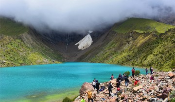 A picture of Private  2 Day Trek to Humantay Lake Service