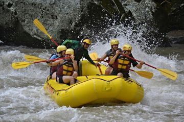 A picture of Pacuare River 4 Day Rafting Adventure from San Jose