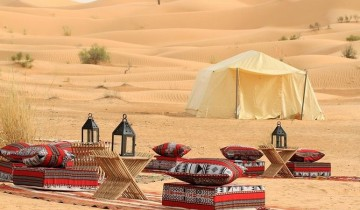 A picture of Sahara Desert Safari with Overnight Camping from Hammamet