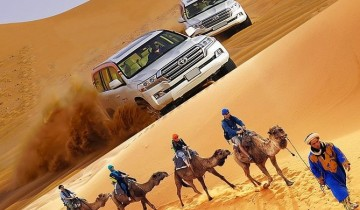 A picture of 3 Day Luxury Tunisian Sahara Desert Private Safari From Douz