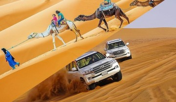 A picture of 7 Day Private 4x4 and Camel Combo Safari in Tunisia Sahara Desert