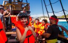 Treasure Hunt - Snorkel & Lunch Pirate Cruise Cabo Legend