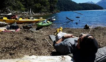 A picture of Private Tour: Three Days Kayak Expedition to Mascardi Lake