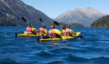 A picture of Private Tour: Two Days Kayak Expedition to Mascardi Lake