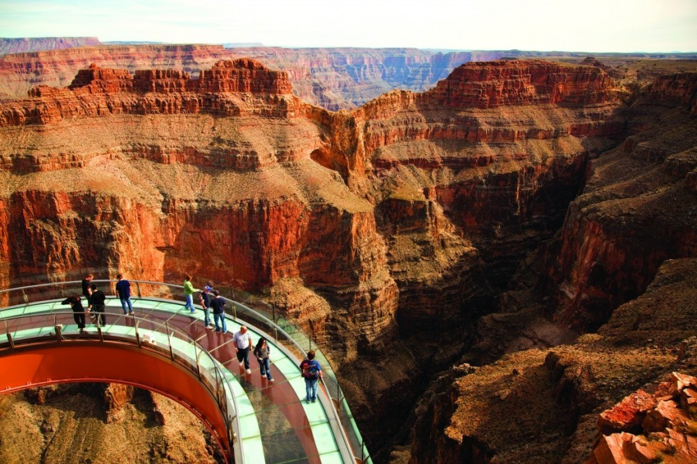 Skywalk Getaway with Helicopter and Boat Tour