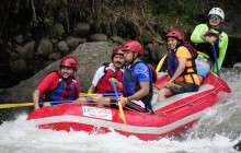 Arenal: White Water Rafting+ EcoTermales Hot Springs + Dinner