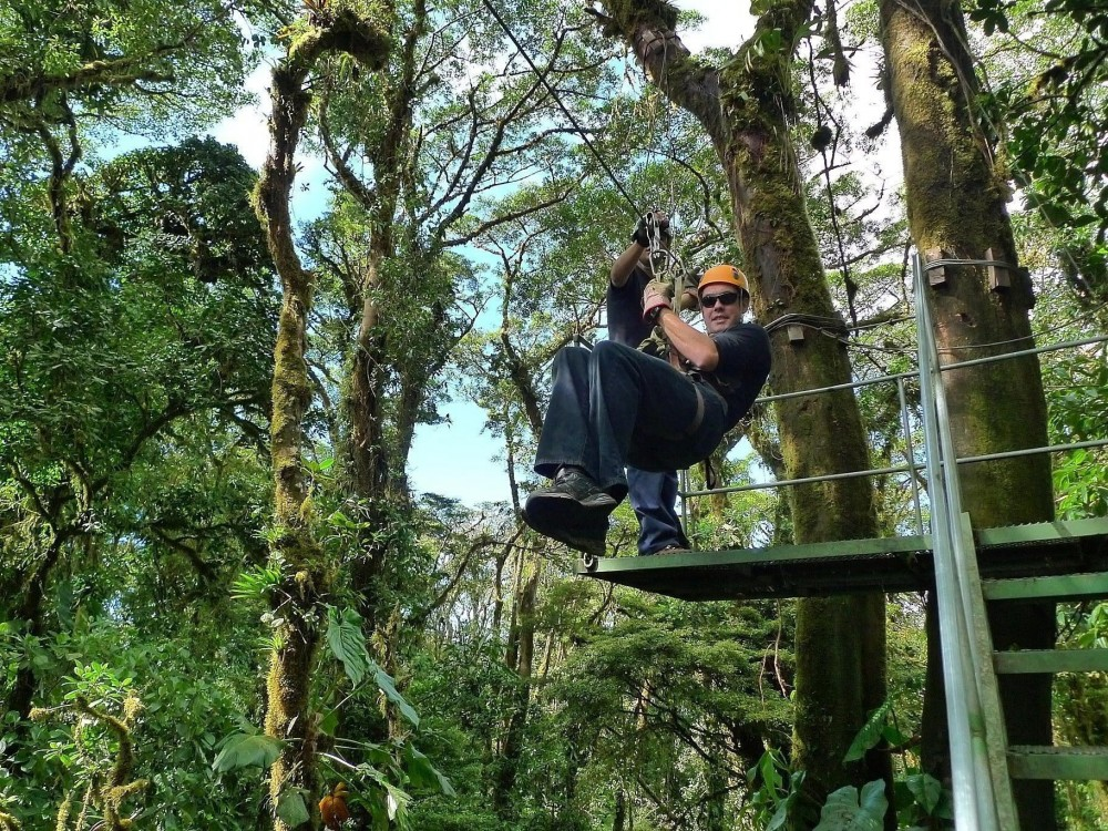 Sky Adventures Monteverde COMBO Sky Trek Tram and Walk