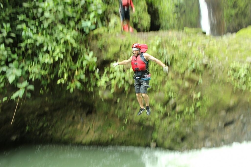 Gravity Falls Waterfall Jumping