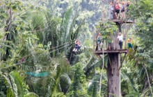 Private Cave Tubing and Zipline