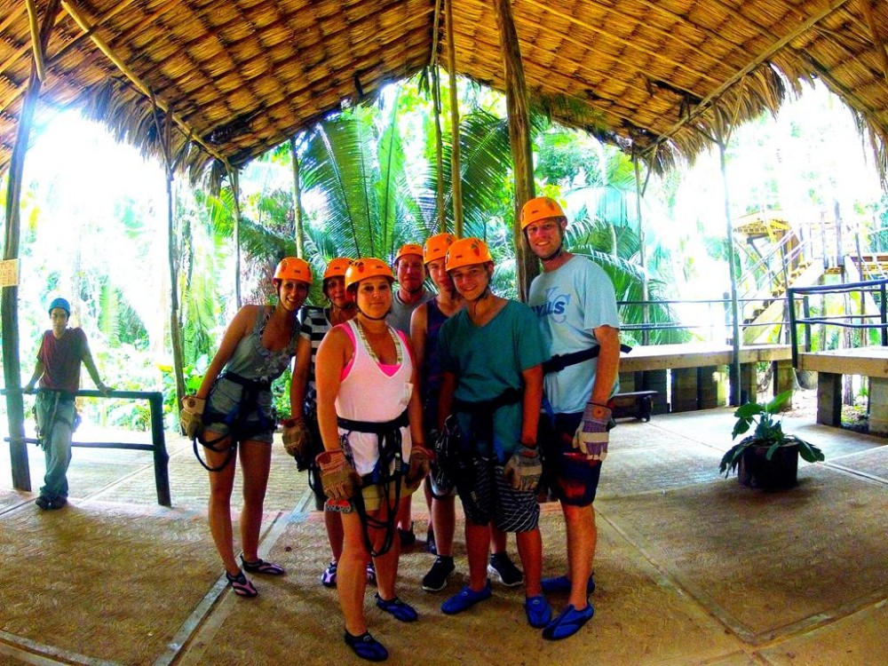 Zip Lining, Rainforest Trek & Cave Tubing