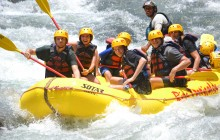 Pacuare River Overnight Rafting Trip