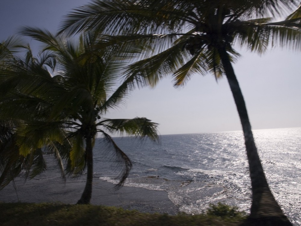Pacific Ocean Panama Coast