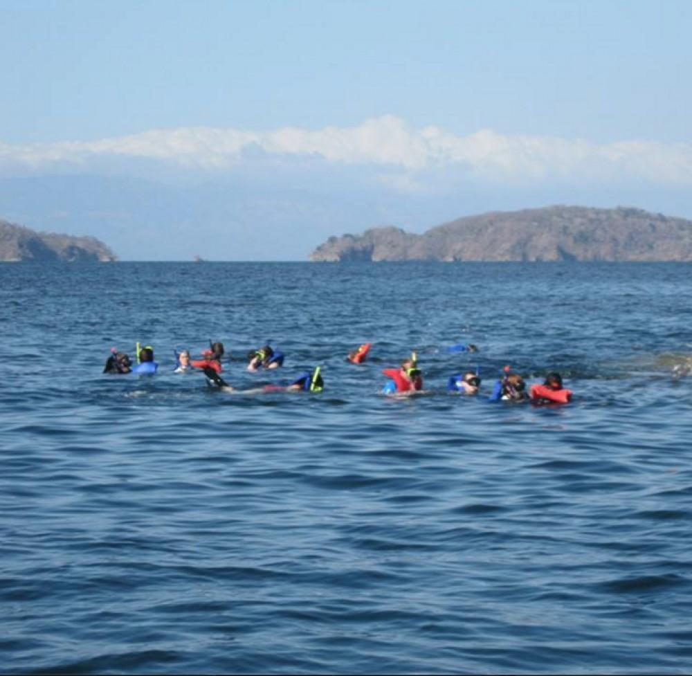 Snorkeling at Islas Tortuga
