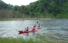 Kayaking at the Arenal Lake