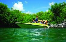 Speed Boat Cancun - Jungle Tour