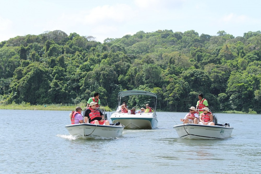 Guided Fishing at the Panama Canal