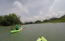Kayaking the Panama Canal