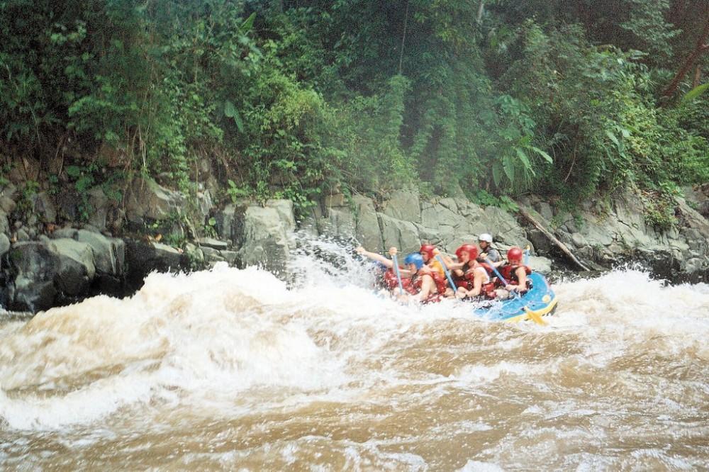 Chiriqui Viejo River Rafting