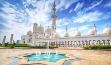 A picture of Sheikh Zayed Mosque Tour & Dubai Desert Safari Combo