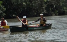 Canoeing Tres Amigos River