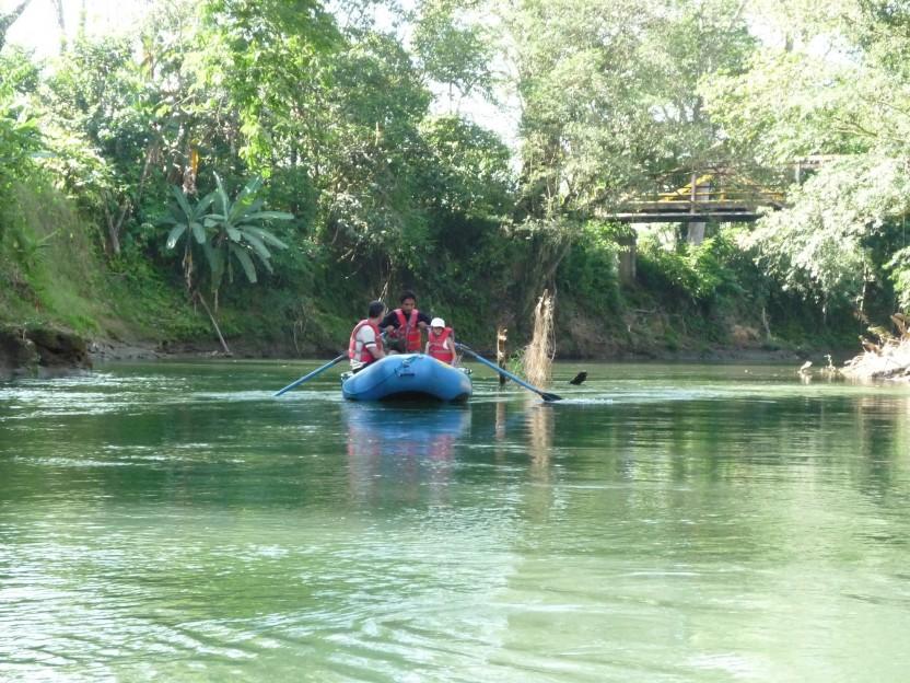 Safari Float at the Penas Blancas River