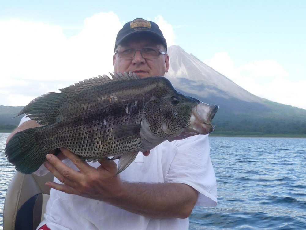 Sport Fishing at Arenal Lake Full Day