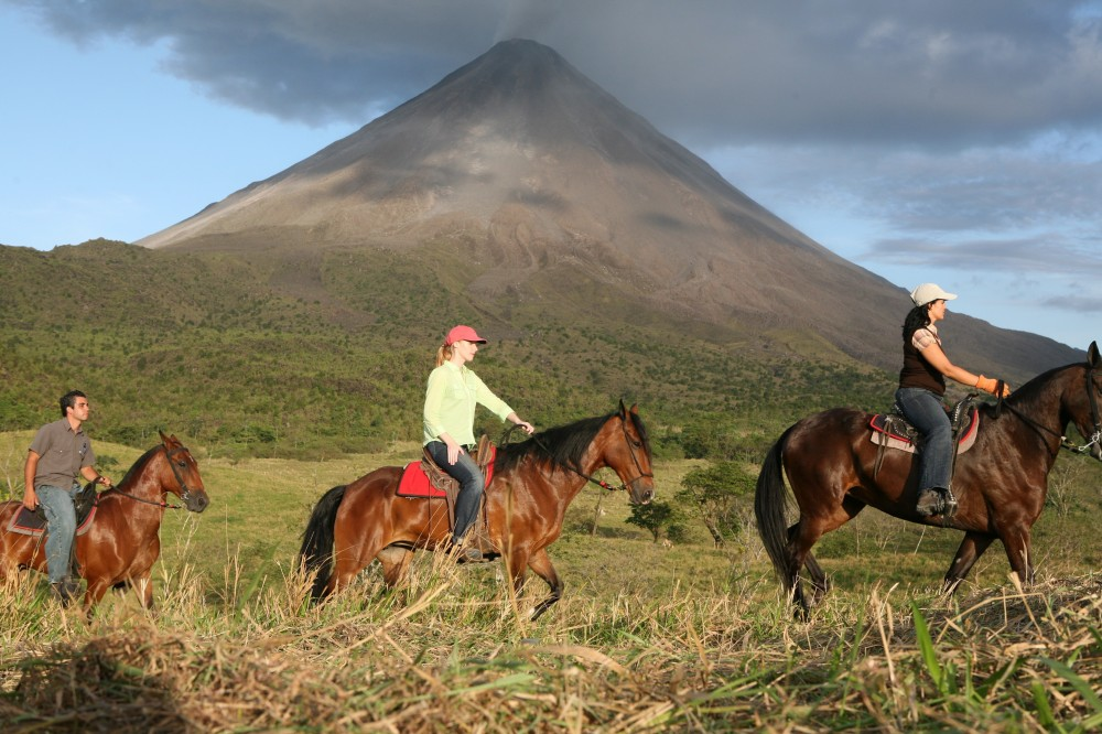 Horseback Riding to the Arenal Volcano