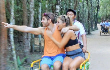 Coba Ruins Sunset Tour by Bike with Cultural or Extreme Activity