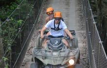 Native's Park ATV Adventure Tour & Cenote Swim from Cancun