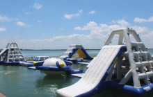 Aquabounce Obstacle Course Play Park