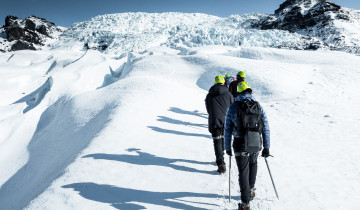 A picture of 6 Day Around Iceland Winter Minibus Tour