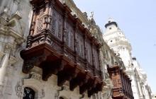 Balconies Of Lima