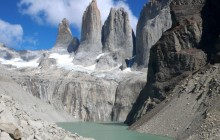 Base of the Torres del PaineTowers Guided Hike