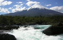 Petrohue Waterfalls & Osorno Volcano