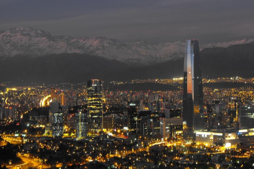 Santiago Sightseeing by Night Including Dinner