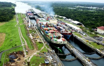 A picture of Panama Canal Centennial