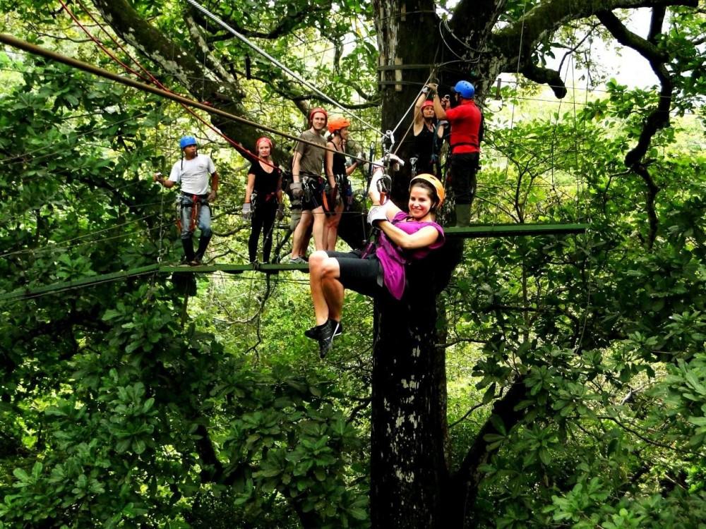 Canopy Tour @ Congo Trail / Cartagena