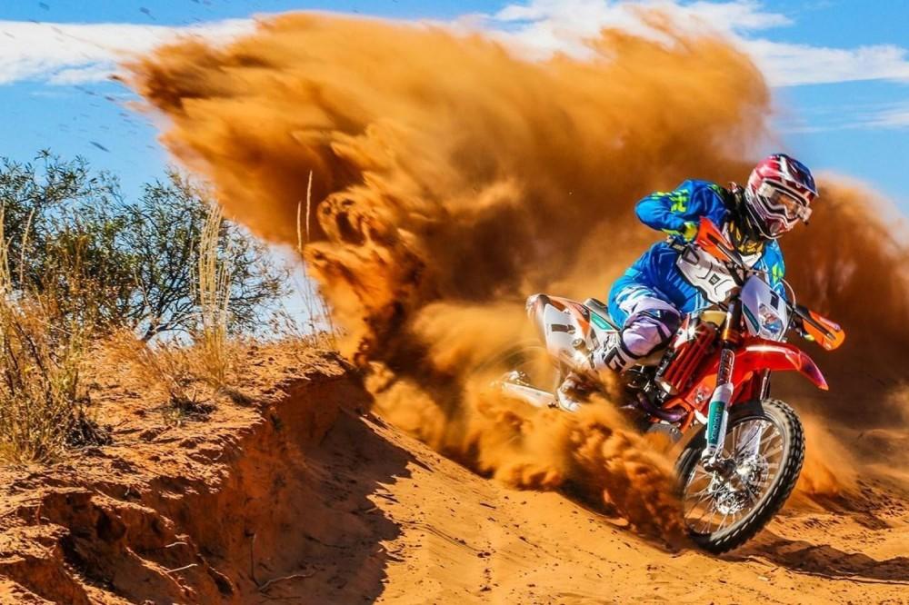 KTM Desert Dirt Bike tour Dubai