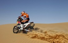 KTM Desert Dirt Bike tour Dubai