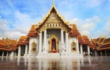 Wat Traimit, Wat Benchamabophit, & Wat Pho