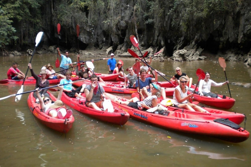 Half Day Kayaking At Bor Thor Village (Shared Basis)