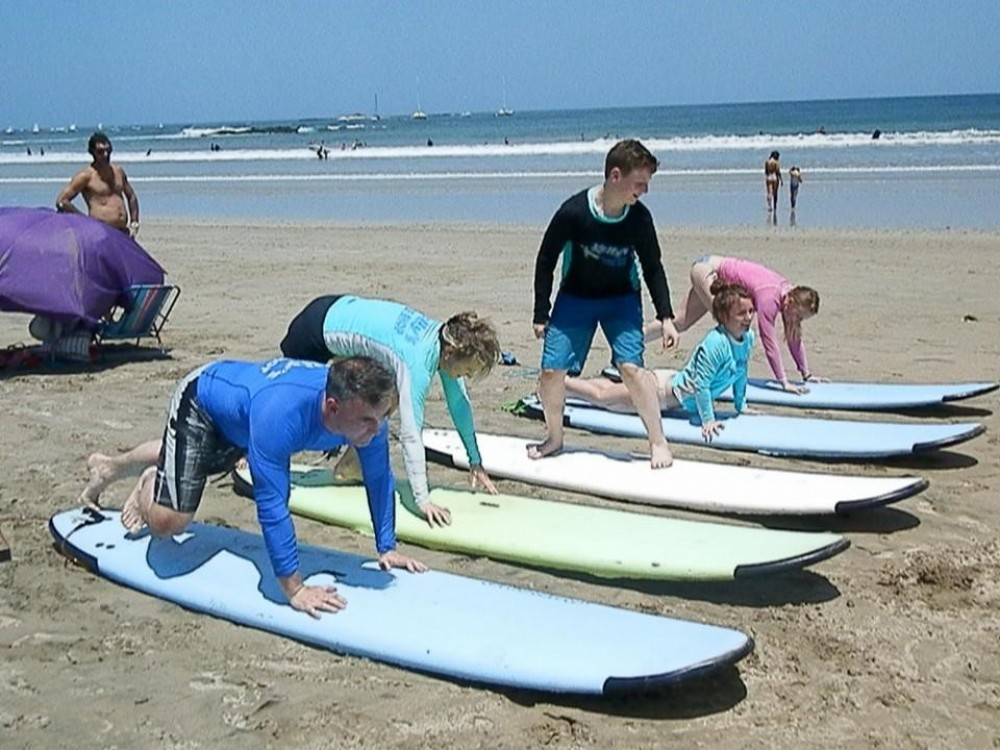 Half-Day of Surf Lessons