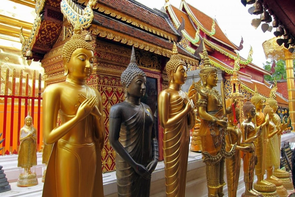 Chiang Mai Half Day City & Temples Tour (Shared)