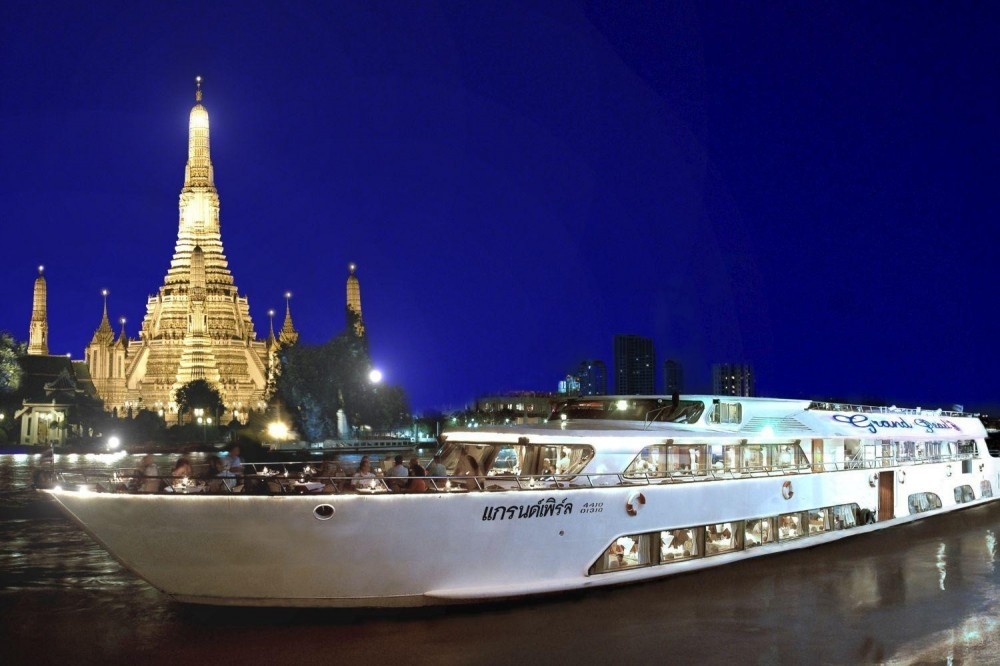 Grand Pearl Cruise With Candle Light Dinner On Chao Phraya