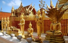 Half Day Doi Suthep & White Hmong Hilltribe Tour (Private Basis)