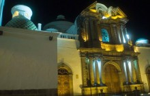 Urban Legends of Quito at night