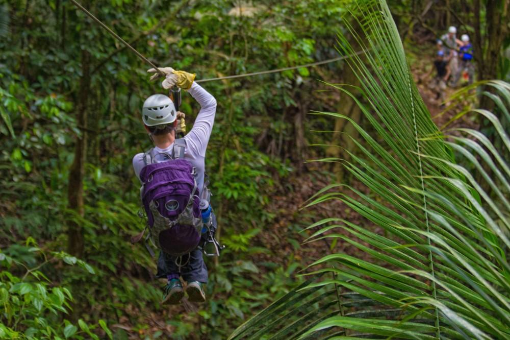 Night Ziplining & Jungle Hike